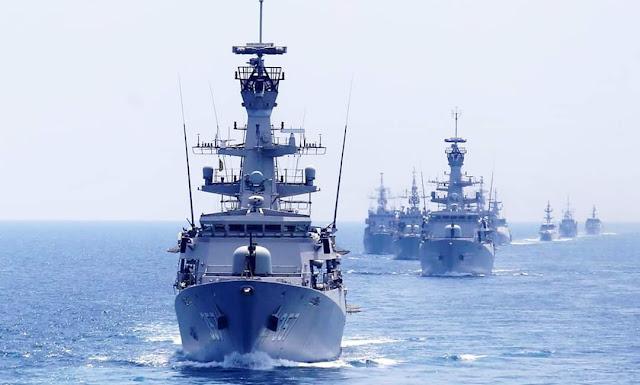Kapal perang TNI AL siaga di Natuna