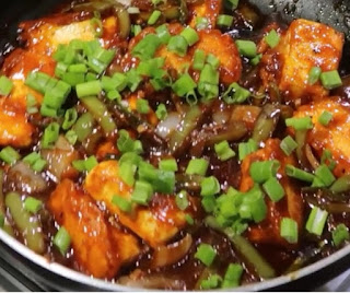 How to make chill paneer recipe