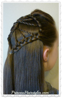 Unique braided hairstyle, the twisted wheel hair tutorial.