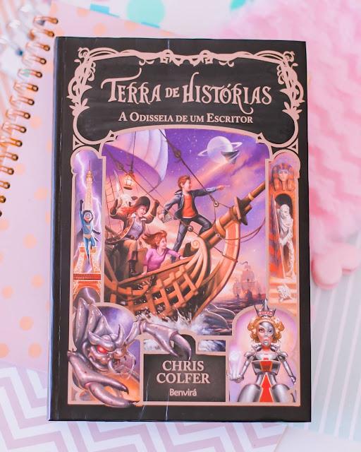 TERRA DE HISTÓRIAS: A Odisseia de um Escritor - CHRIS COLFER