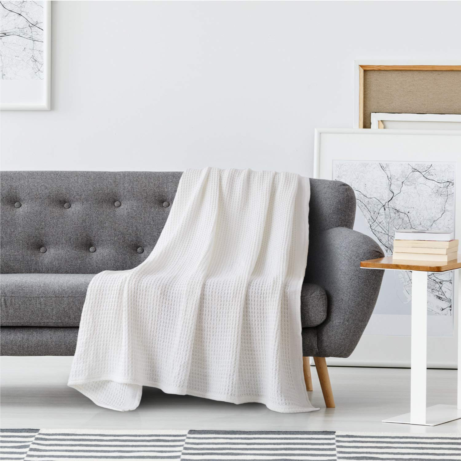 8 Best Thermal, Queen Size Blankets for Summer