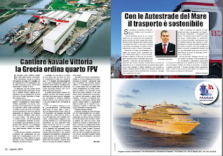 AGOSTO 2019 PAG. 22 - Cantiere Navale Vittoria la Grecia ordina quarto FPV