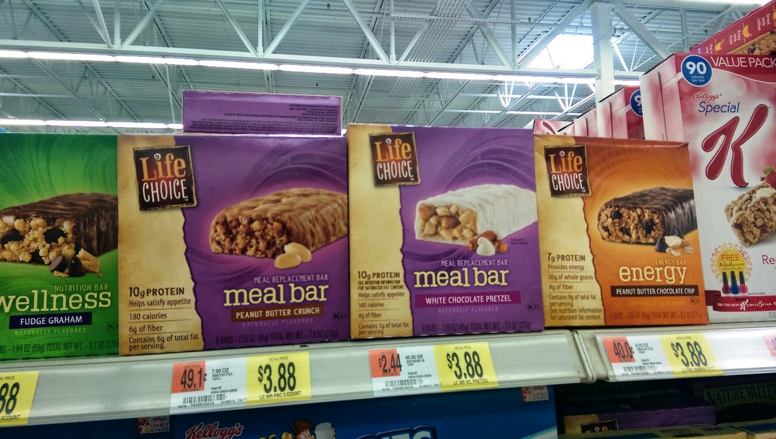 Life Choice Meal Bars