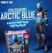 Bundle Arctic Blue Free fire