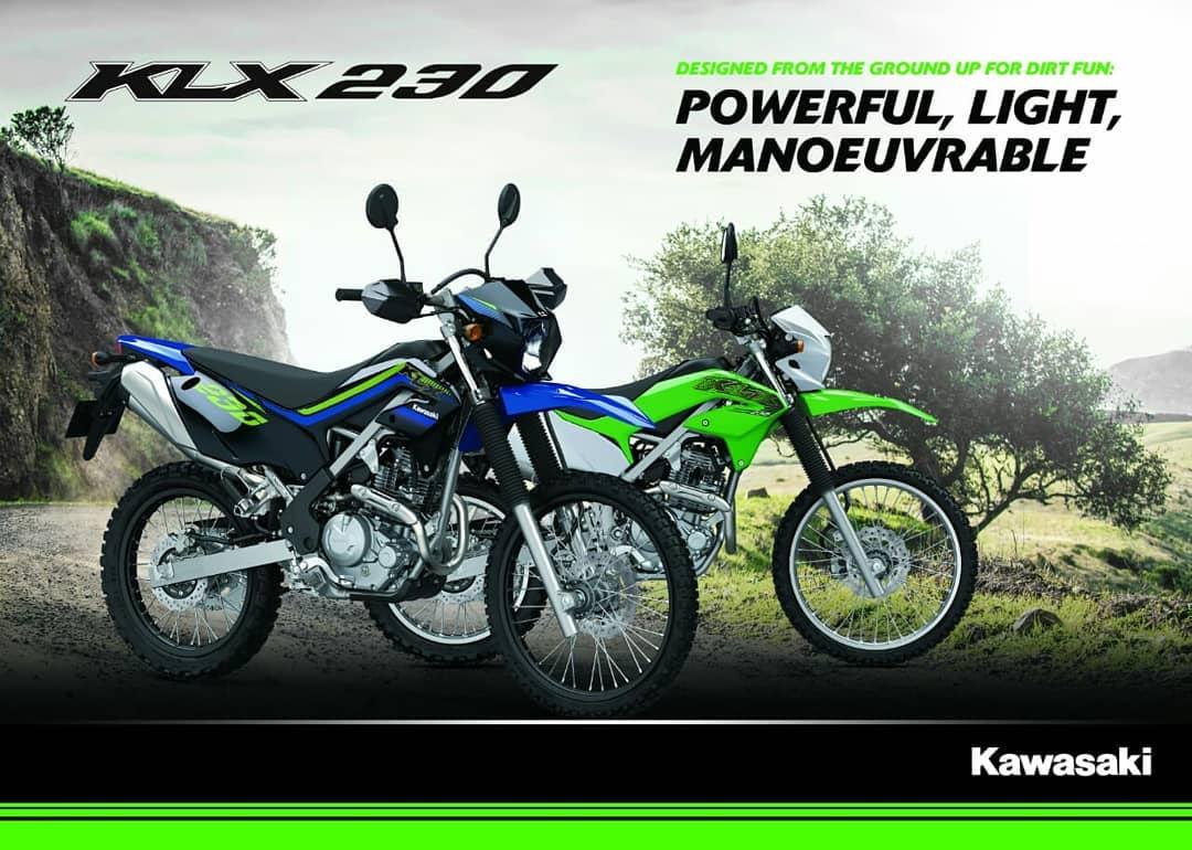 Kawasaki KLX 230 Sudah Dapat Dipesan di Kawasaki Sentral Kebumen