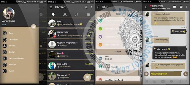 Download BBM Mod Aksara Versi 3.0.0.18 Apk Terbaru For Android