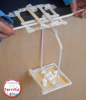 STEM Challenges: Straws are such a great material to use for your STEM projects. They are easy to use, come in many colors and sizes, and they are inexpensive! This project was a rescue event and students built the turning devices with straws!