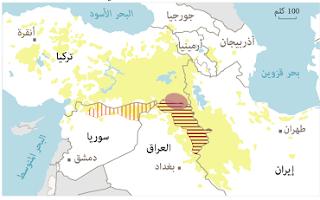 تأجيج الصراع الكردي الكردي بين الديمقراطي والعمال الكردستانيين