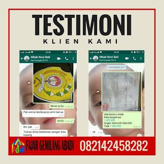 Testimoni Tenda Murah Surabaya Bulan Januari 2018