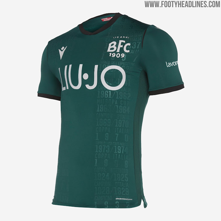 115 Euros: Bologna 19-20 Third Kit Released | 110th ...