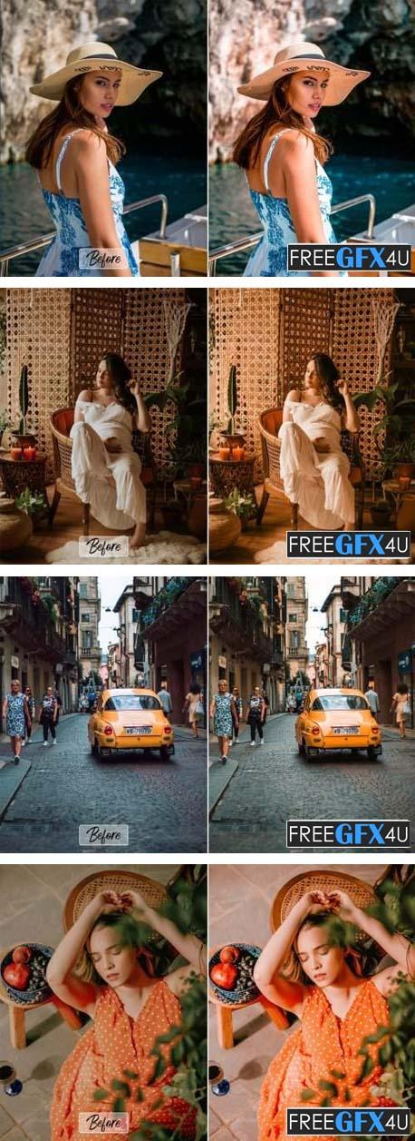 7 Pro Capri Actions, ACR, LUT Presets