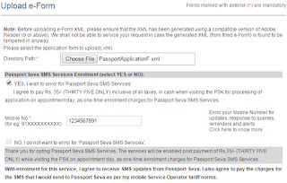 Step 4: apply for Fresh Passport\Re-issue Passport Offline image1
