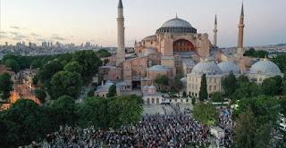 إسطنبول, آيا صوفيا, تركيا, علي أرباش, وكالة الأناضول، رجب طيب اردوغان، الاناضول، حربوشةنيوز،