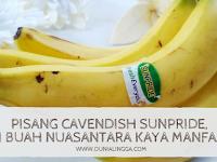 Pisang Cavendish Sunpride, Si Buah Nusantara Kaya Manfaat