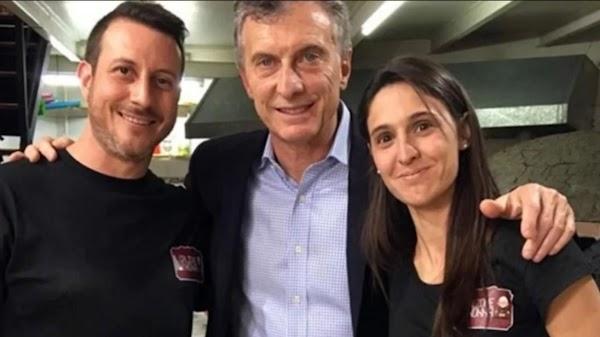 Crisis económica: cerró la pizzería que visitó Mauricio Macri hace un año