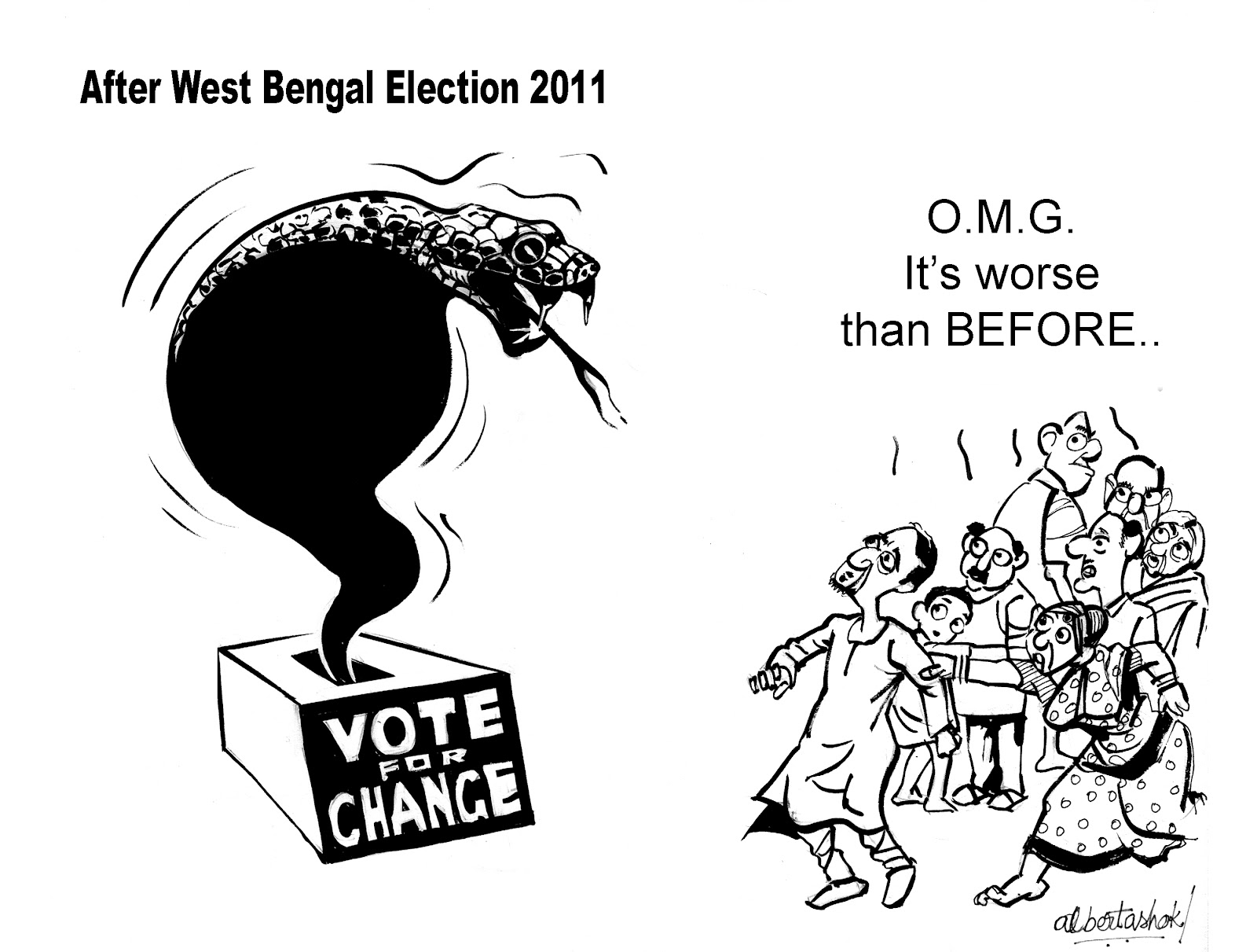 Cartoon A Document Of My Works Time And Life Political