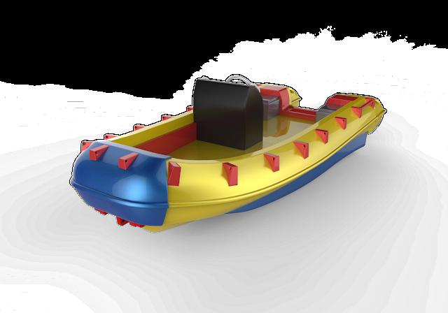 Lifeboat 3d Model Free Download Obj,Maya,Low poly