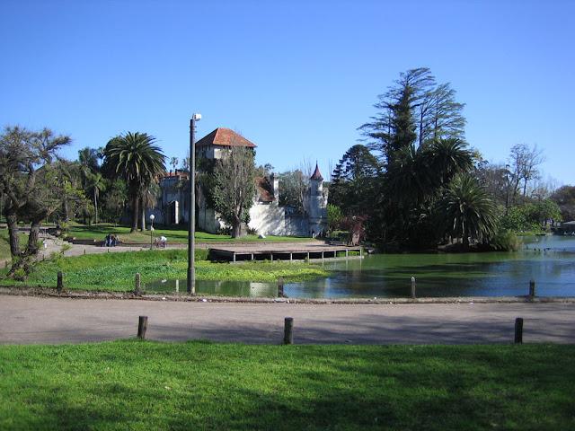 Lago del Parque Rodó