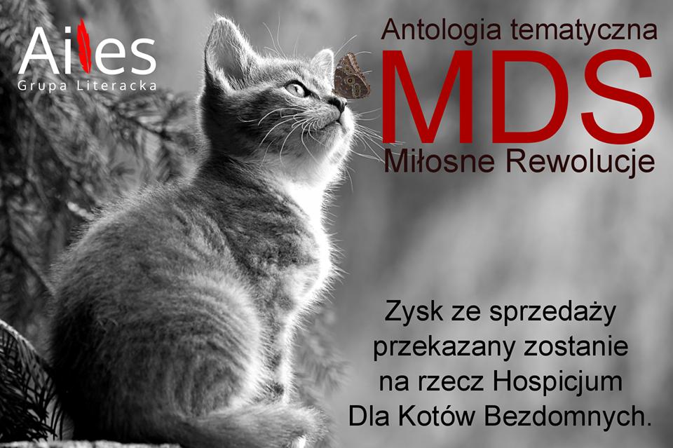 MDS Miłosne Rewolucje, książka, antologia, Ailes, grupa literacka Ailes, publikacja