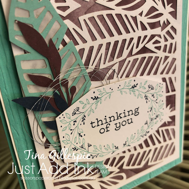scissorspapercard, Stampin' Up!, Just Add Ink, Friends Of A Feather, Paper Pumpkin, Pinewood Planks 3DEF, Stitched Rectangles Dies