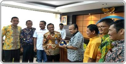 Kujungi BKKBN Pusat, Pemko, Wakil Ketua DPRD Padang BIcarakan Kampung KB GP