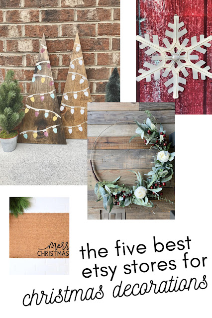 The Five Best Etsy Stores for Outdoor Holiday Decorations