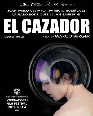 "POSTER PELICULA ""El Cazador"" - Argentina - 2020"