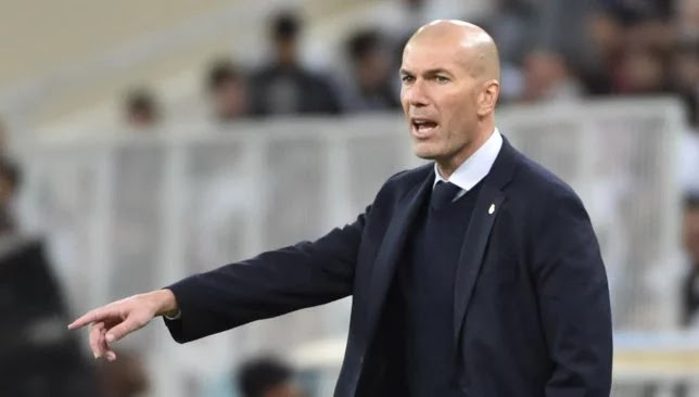 A special curse afflicts Zidane in Real Madrid