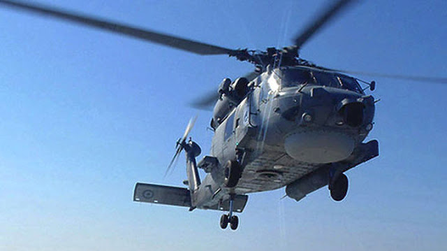 Πτώση ελικόπτερο του ΝΑΤΟ ανοιχτά της Κεφαλονιάς