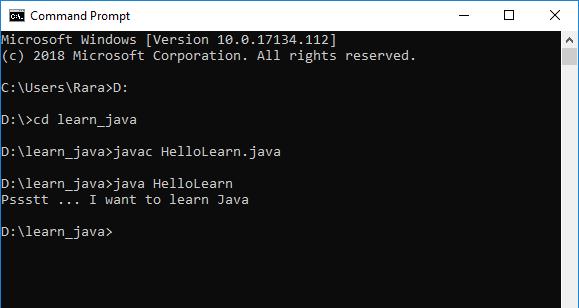 Run_HelloLearn_Java