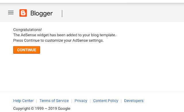 Cara saya supaya lulus Google Adsense