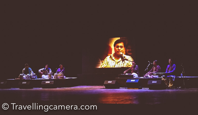 "On 23 September 2011, world changed forever for the fans of ""Badshah-e-Ghazal"" Jagjit Singh. The Maestro suffered a cerebral hemorrhage which would claim his life two weeks later. Desperate prays poured in from all over the world while he was in coma. No one was willing to let go of Jagjit Singh just yet. He still had years of music in him, and his voice was becoming more soulful with each passing year. And the man was much more than a musician, he had a rare connect with his team and his fans. His ability to gauge and transform the mood of his audience was legendary. His concerts were almost always completely booked with hopefuls still lining up outside the venues waiting to grab any unclaimed tickets. He was more than a celebrity. He was a ""Yug Purush""."