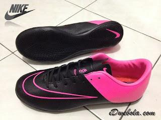 Sepatu Futsal Nike Vapor X Hitam Pink
