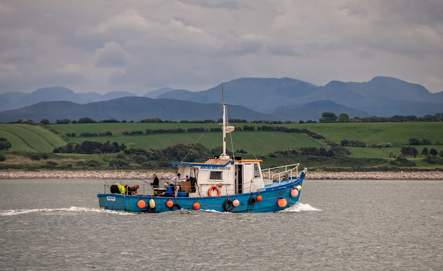 Photo of Venture West charter fishing boat on the Solway Firth