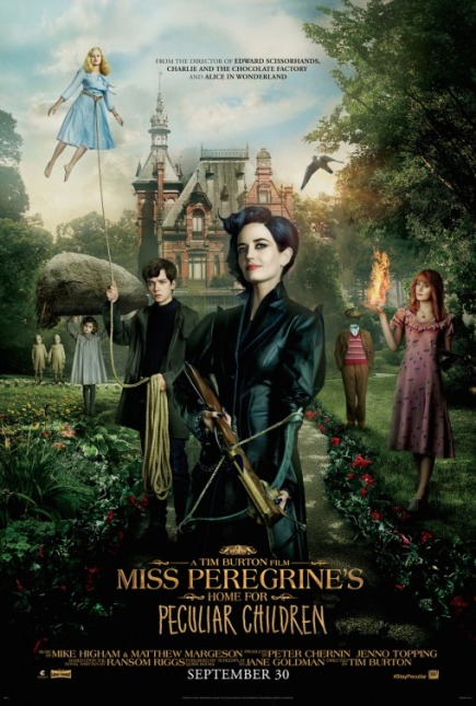MISS PEREGRINE'S HOME FOR PECULIAR CHILDREN (2016) movie review by Glen Tripollo