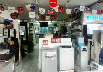 pusat grosir elektronik kota Tangerang, Banten
