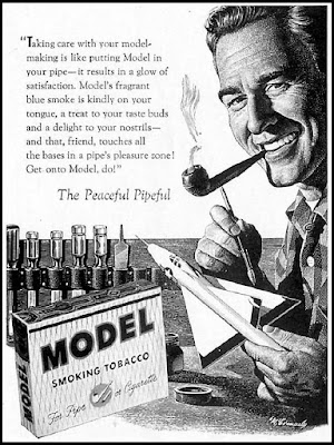 Model Smoking Tobacco