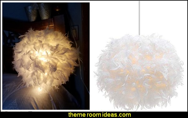 White Feather Chandelier angel bedroom lights angel bedroom decor