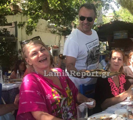 Ράχες Στυλίδας: Ο Χρήστος Σταϊκούρας είχε κέφια...