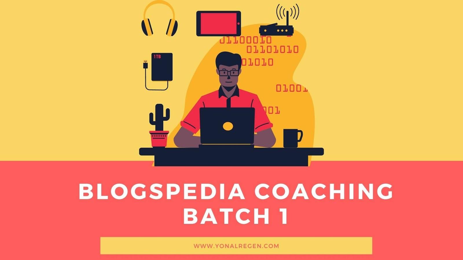 Kelas blog on line bagi blogger pemula