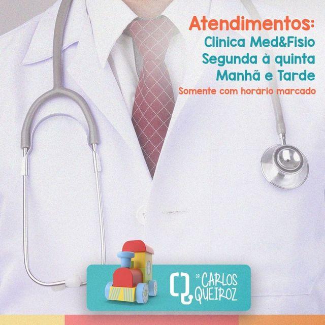 Pediatra Dr. Carlos Queiroz atende com hora marcada em Santa Cruz do Capibaribe