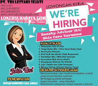 Bursa Kerja Surabaya di PT. Tri Lestari Sejati Januari 2020