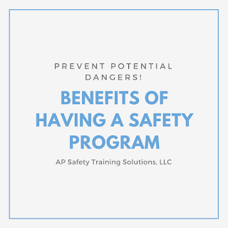 Benefits of Having a Safety Program