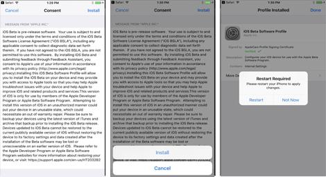 Cara Download iOS 11 Beta di iPhone Anda 3