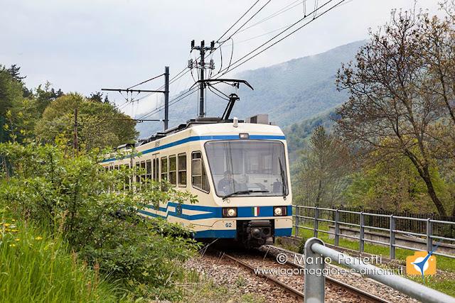 Il trenino della ferrovia Vigezzina