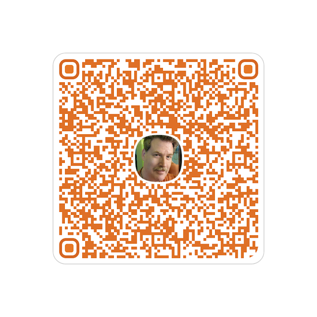 Scan QR to add Dan to Contacts