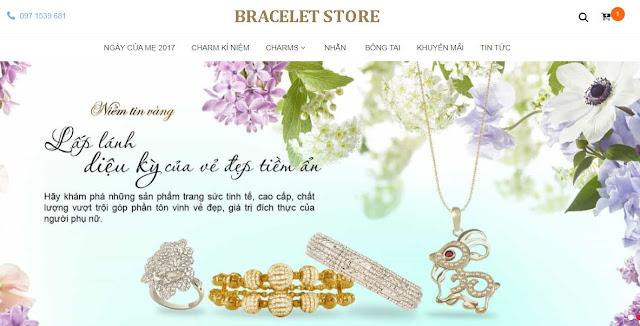 [Share] - Giao diện Bracelet Store
