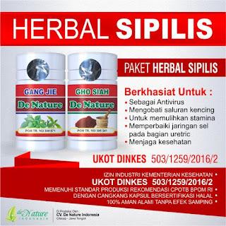 Obat Sipilis Herbal Alami
