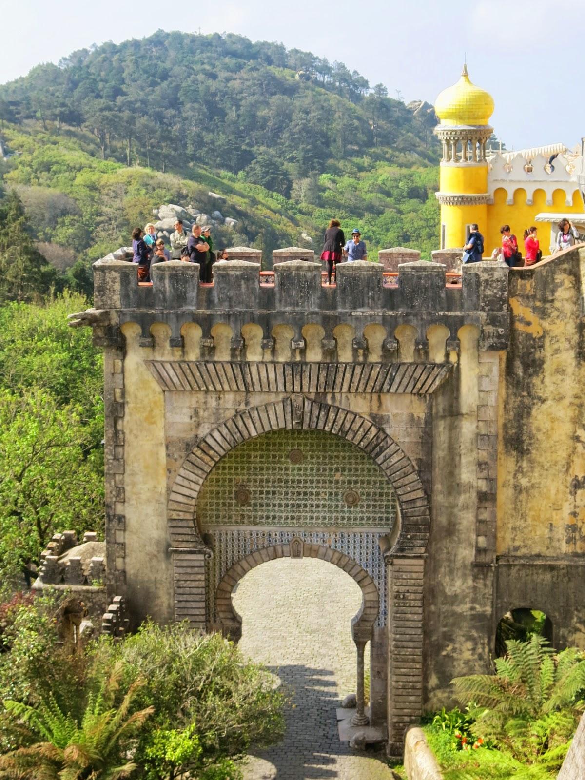 Pena-palatset i Sintra i Portugal