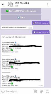 telegram click bot ödeme kanıtı resmi